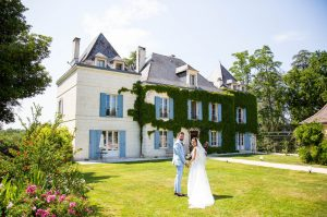 Uk wedding in Charente